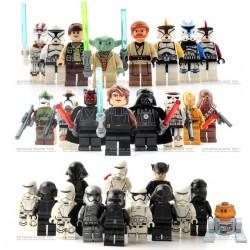 SET Figurky k LEGO STAR WARS 24 ks