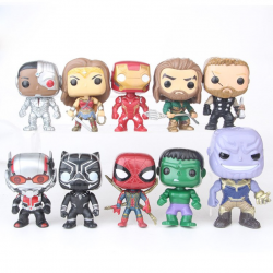 Set Mini Figurek Marvel & DC Comisc 10 ks II