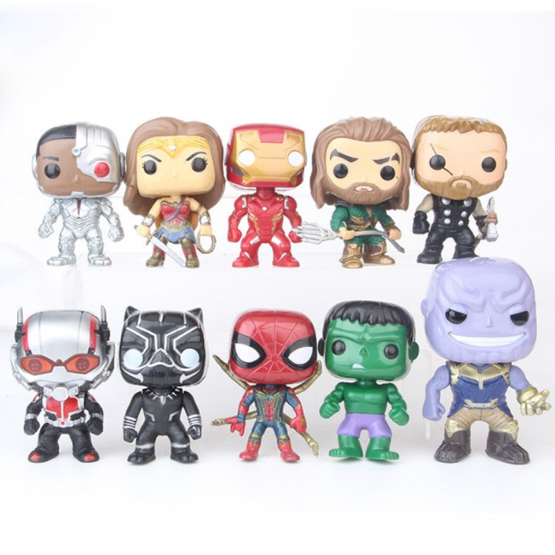 Set Mini Figurek Marvel & DC Comisc 10 ks II