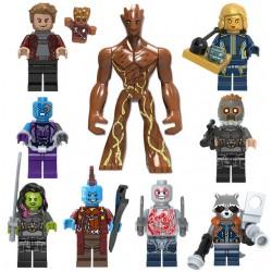 Figurky Strážci Galaxie k LEGO 10 ks
