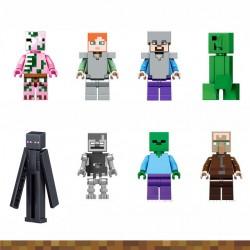 Figurky MINECRAFT k LEGO 8 ks