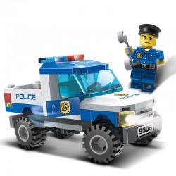Stavebnice Policejní autíčko 84 Dílků