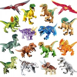 Figurky Jurský Svět Dinosauři k LEGO 16 ks