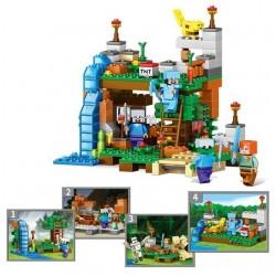 Stavebnice MINECRAFT k LEGO 4v1