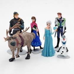 Figurky Ledové Království | FROZEN 6 ks