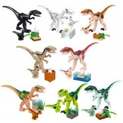 Figurky Jurský Svět Dinosauři a vajíčka k LEGO 8 ks