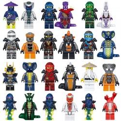 SET Figurky k LEGO NINJAGO 24 ks