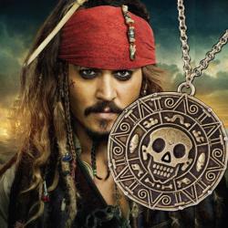 Medailon Piráti z Karibiku - Aztécké zlato Jack Sparrow