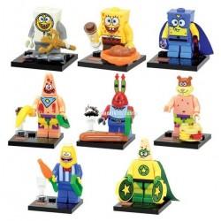 Figurky Spongebob k LEGO 8 ks