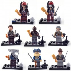 Figurky Piráti z Karibiku k LEGO 8 ks II