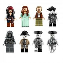 Figurky Piráti z Karibiku 5 k LEGO 8 ks