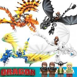 Stavebnice a figurky k LEGO Jak Vycvičit Draka