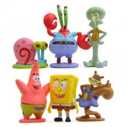 Figurky Spongebob 6 ks