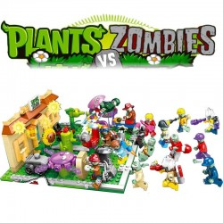 Stavebnice a figurky Plants vs Zombies k LEGO