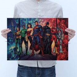 Plakát DC Comics Justice League