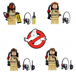 Figurky Krotitelé duchů k LEGO 4 ks