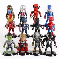 SET Figurky Avengers 12 ks