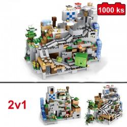 Stavebnice MINECRAFT k LEGO