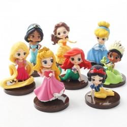 Figurky Disney Princezny z pohádek 8 ks