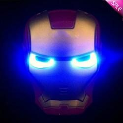Svítící Maska Iron Man