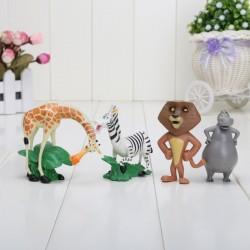 Figurky Madagaskar 4 ks