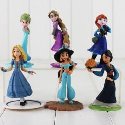 Figurky Disney Princezny z pohádek 6 ks