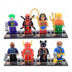 Figurky k LEGO DC Comics & Marvel 8 ks
