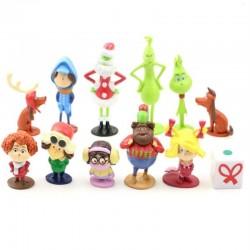 Figurky Grinch 12 ks
