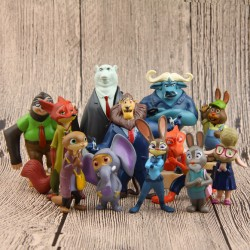 Figurky Zootropolis 12 ks