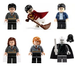 Figurky k LEGO Harry Potter 6 ks
