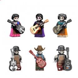 Figurky Coco k LEGO 6 ks
