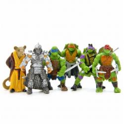 Figurky Želvy Ninja 6 ks II