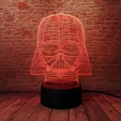 3D LED Lampička Darth Vader Star Wars