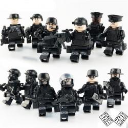 Figurky SWAT Policie k LEGO