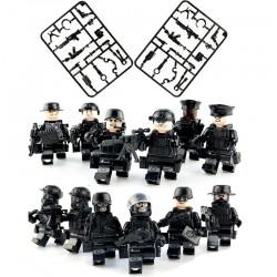 Figurky SWAT Policie k LEGO 12 ks