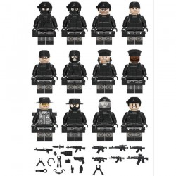 Figurky SWAT k LEGO 12 ks