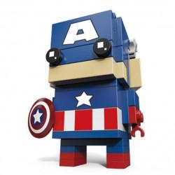 Figurka Kapitán Amerika BrickHeadz