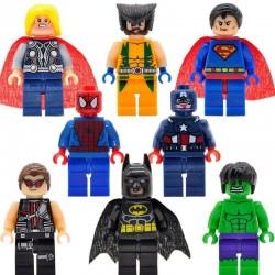 Figurky MARVEL & DC Comics k LEGO 8 ks