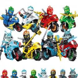Figurky Ninjago a Motorky k LEGO 16 ks II