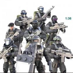 Figurky speciální tým SWAT Policie 8 ks