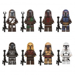 Figurky k LEGO STAR WARS 8 ks