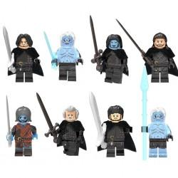 Figurky Hra o Trůny Noční hlídka k LEGO 8 ks