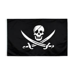 Pirátská vlajka 150x90 cm | Piráti z Karibiku
