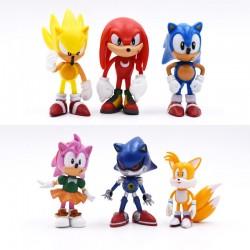 Figurky Ježek Sonic 6 ks
