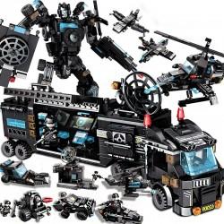 Stavebnice speciální tým SWAT Policie k LEGO 828 ks