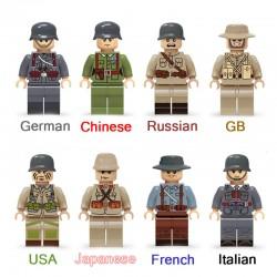 Figurky Vojáci 2. Světová...