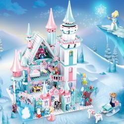 Stavebnice Hrad Ledové Království 1314 dílků