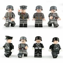 Figurky set německých vojáků 2. Světová válka k LEGO 8 ks