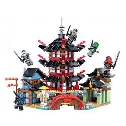 Stavebnice Ninjago Chrám Airjitzu