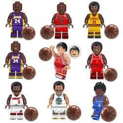 Figurky basketbalisté NBA k LEGO 9 ks